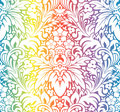 Vector. Seamless multicolor pattern Royalty Free Stock Images