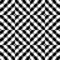 Vector Seamless Optical Pattern Royalty Free Stock Photos