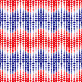 Vector seamless pattern.Abstract Festive design background concept in traditional American colors - red, white, blue. Modern styli
