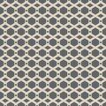 Vector seamless pattern of abstract hexagon