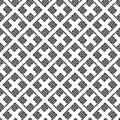 Vector seamless pattern of abstract square line