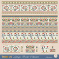 Vector seamless pattern in antique style Stock Images