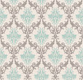 Vector seamless pattern with art ornament for Royalty Free Stock Photo