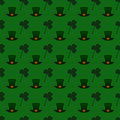 Vector seamless pattern background for St. Patrick's Day