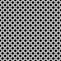 Vector seamless pattern, black & white texture