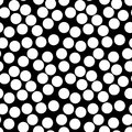 Vector seamless pattern, chaotic dots