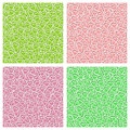 Vector Seamless Pattern Clover