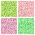 Vector Seamless Pattern Clover