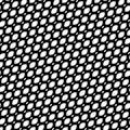 Vector seamless pattern, diagonal mesh texture, lattice, tissue,