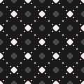 Vector seamless pattern, dotted lines, diagonal lattice