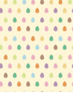 Vector seamless pattern of easter eggs blurred ef background is my creative handdrawing and you can use it for vintage wallpapers Stock Photography