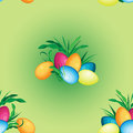 Vector seamless pattern on Easter holiday.