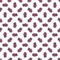 Vector seamless pattern of figs, design colorful abstract illustration. Whole purple fig fruits on white background for patterns,