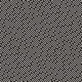 Vector seamless pattern with geometric spots. Monochrome random line streaks. Contrast repeating background design
