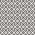 Vector seamless pattern. Geometric texture. Royalty Free Stock Photo