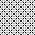 Vector seamless pattern. Geometric texture. Black-and-white background. Monochrome design.