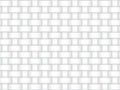 Vector seamless pattern of intersected bands. White texture.