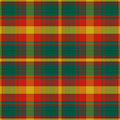 Vector seamless pattern maple leaf tartan canadian with four colours of the Royalty Free Stock Photo