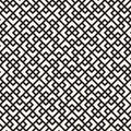 Vector seamless pattern. Mesh repeating texture. Linear grid with chaotic shapes. Stylish geometric lattice design