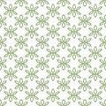 Vector seamless pattern of minimalist petals