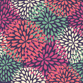 Vector seamless pattern. Modern floral texture. Royalty Free Stock Photo