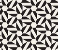 Vector seamless pattern. Modern stylish abstract texture. Repeating geometric tessellation from star elements.
