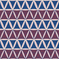 Vector seamless pattern. Modern stylish texture. geometric tiles from triangles. with usa color style fashion