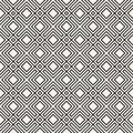 Vector seamless pattern. Modern stylish texture. Repeating geometric background. Striped lattice. Linear graphic design.