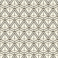 Vector seamless pattern modern stylish texture. Repeating geometric tiles