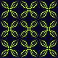 Vector seamless pattern with neon dots, sparkles, crosses. Extreme sport style, urban art texture. Royalty Free Stock Photo