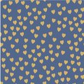 Vector seamless pattern. Randomly disposed hearts. Cute background for print on fabric, paper, scrapbooking.