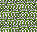 Vector seamless pattern of ribbons