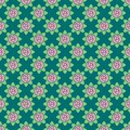 Vector seamless pattern of roses