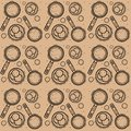 Seamless pattern with Shrovetide celebration. Illustration of Maslenitsa celebration.