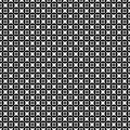 Vector seamless pattern, simple monochrome texture