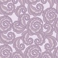 Vector seamless pattern with spirals Royalty Free Stock Photos