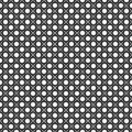 Vector seamless pattern, staggered monochrome texture