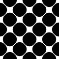 Vector seamless pattern, texture with circles