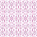 Vector seamless pink guilloche background Royalty Free Stock Image