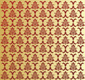 Vector. Seamless rococo pattern Royalty Free Stock Photo