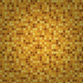 Vector seamless round beige mosaic abstract background Royalty Free Stock Images