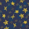 Vector seamless star background