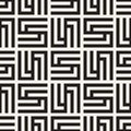 Vector seamless subtle lattice pattern. Modern stylish texture with monochrome trellis. Repeating geometric grid.