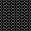 Vector seamless texture, black & white lattice