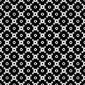 Vector seamless texture, monochrome tileable pattern