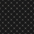 Vector seamless texture with tiny circles, simple dotted geometr