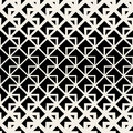 Vector Seamless Triangle Geometric Grid Lines Pattern