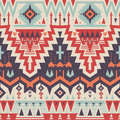 Vector Seamless Tribal Pattern Royalty Free Stock Photo