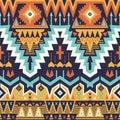 Vector Seamless Tribal Pattern