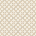 Vector seamless vintage geometrical wallpaper pattern background Stock Photo